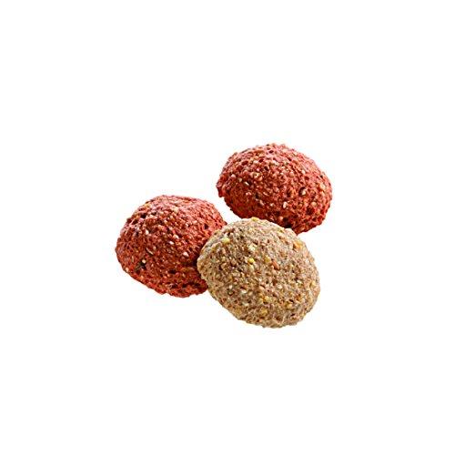 Monties Pferdeleckerlis, Erdbeer-/Vanille-Snacks, Extrudiert, Größe ca. 4,5 cm Durchmesser, Gourmet-Snacks, 10 kg