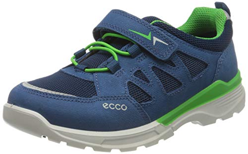 Ecco Jungen URBANHIKER Sneaker, Blau (Poseidon 2269), 28 EU