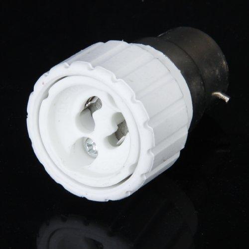 Amuzocity B22 GU10 bayoneta LED halógena CFL lámpara adaptador