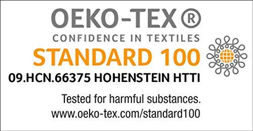 TippTexx24 Ökotex Bambussocken, 6 Paar Socken, GERUCHS-KILLER, zusätzliche Garantie (Schwarz, 43/46-6Paar) - 6