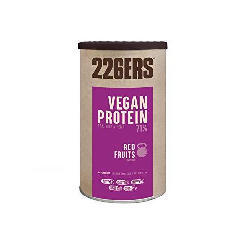 226ERS Vegan Protein, Batido Proteina en Polvo, Vegana, Sin Gluten y S