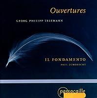 Telemann:Overtures in D,F & Gm