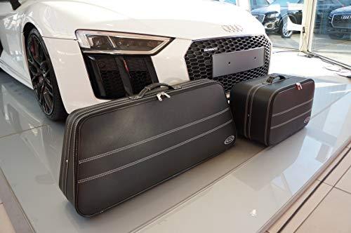 Roadsterbag kofferset geschikt voor Audi R8 4S Spyder/Roadster 2-delige reiskoffer