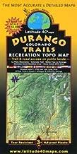 Durango Colorado Trails Recreation Topo Map