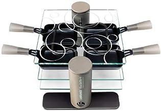 Maybaum R4 Appareil à raclette design Plastique/Verre (Import Allemagne)
