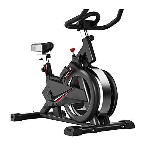 JJSFJH Spinning Bikes, flüsterleisen Heimtrainer, real-Life intelligente 4D Spiele |Bequeme Kissen |weiche Armlehnen |multifunktionales Klammer, EIN Indoor-Fahrrad Sportgeräte for die Gewichtsabnahme