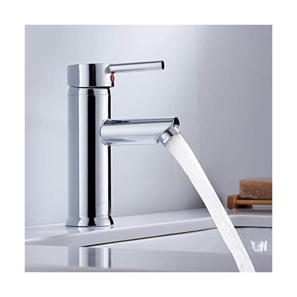 ECOILY – Grifo monomando para lavabo (cromo)