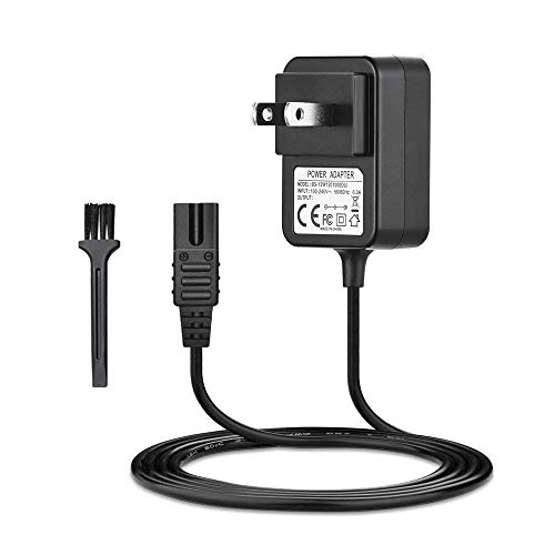 IBERLS 2V Power Cord Adapter Replacement for Wahl Shaver Electric All-In-One Grooming Trimmer Electric Hair Clipper Charger for Wahl 8061, 8163, 7367, 7357, 7353, 7029, 7060, 7035, 7356 Power Supply