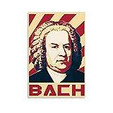 Performer Johann Sebastian Bach, moderne Kunst,
