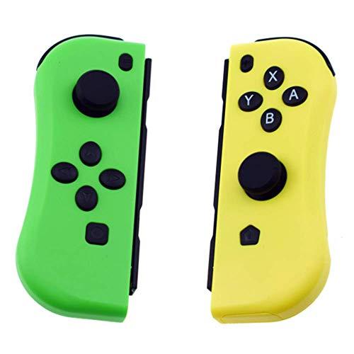 Lebron ray Nintendo-Schalter Joy-Con-Game-Controller NS-Host Bluetooth Essen Huhn Spielekonsole, Dual-Motor-Welle Gyro TUTUO Wireless-Controller Für Nintendo Switch,Gelb