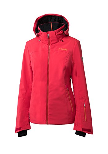 Phenix Damen Nederland Jacket Skijacke, Coral, 40
