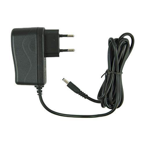 Foscam Original 5V 2A Netzteil mit EU Stecker, DC (3.5x1.5mm Klinke) - Schwarz, Kompatibel mit R2/R4/FI9826P IP Kameras und Mehr