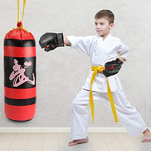 Boxset Für Kinder, Boxspielzeug Für Kinder, Einschließlich Boxhandschuhe Für Kinder, Fitness-Boxsack, Kinder-Fitness Für Jungen Und Mädchen