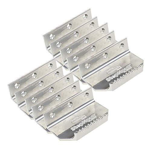 StepNpull Hands Free Door Opener (Silver, 10 Count)