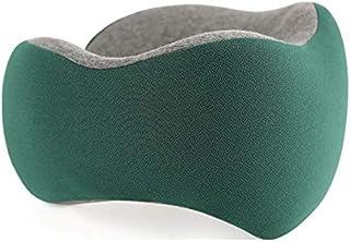Oreiller de Voyage en Forme de U en Coton à mémoire de Forme, Turquoise (Turquoise) - hfthf-74637