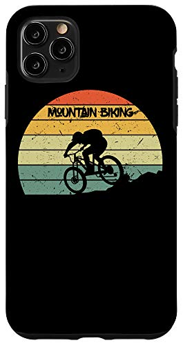iPhone 11 Pro Max Vintage Mens MTB Downhill Biking Mens Mountain Bike Gift Case