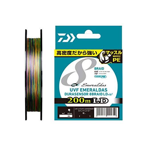 ダイワ(DAIWA)『PEラインUVFエメラルダスデュラセンサー×8LD+Si20.8号200m』