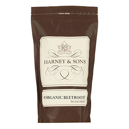 Harney & Sons Organic Beetroot Tea, Bulk bag of 50 sachets