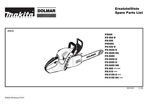 Trekveer, origineel onderdeel voor Dolmar PS-7310, 38117050-8474