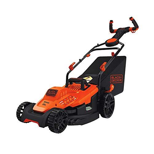 BLACK+DECKER Electric Lawn Mower, 10-Amp, 15-Inch, Corded (BEMW472ES)