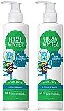 Fresh Monster Kids Shampoo & Body Wash, Ocean Splash |Toxin-Free Hypoallergenic & Natural|(2 Pack, 8.5oz/ea)
