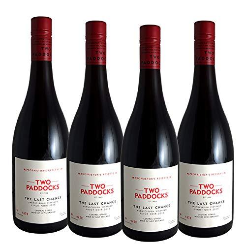 4本セット ザ ラスト チャンス ピノ ノワール[2015]トゥー パドックス(赤ワイン ニュージーランド)