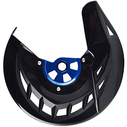 VANOLU Cubierta del Protector del Disco del Freno Delantero para YZ WR YZF WRF 125250450 YZ125 YZ250 YZ125X YZ250X YZ250F YZ450F WR250F WR450F 06-2019 (Negro Azul)