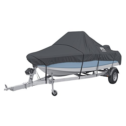Best Deals! Classic Accessories StormPro Heavy Duty Center Console Boat Cover, For 14-16' Long, Up t...