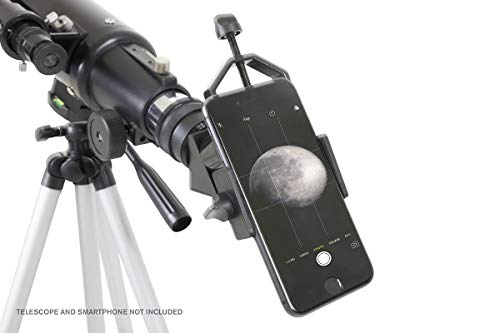 Celestron Basic Smartphone Adapter 1.25 Capture Your Discoveries,Black (81035)