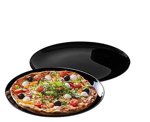 2 Pizzateller/Grillteller 32cm Black Italian Style