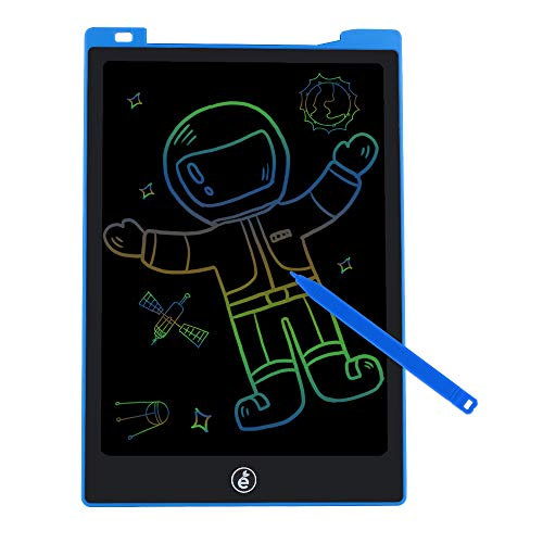 JefDiee 11 Inches LCD Writing Tablet Colorful Drawing Pad, Electronic Doodle Board Digital Drawing Tablet for Kids and Adults (Blue)