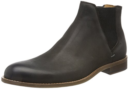 BOSS Orange Herren Varadero_Cheb_lt Chelsea Boots, grau (dark grey), 43 EU