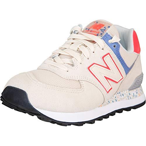 New Balance NB 574 - Zapatillas para mujer, color Beige, talla 38 EU