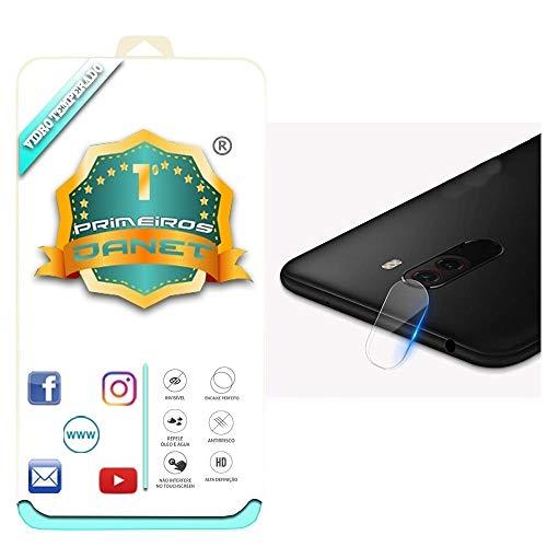 """Película De Vidro Temperado Para Câmera Xiaomi Pocophone F1 Tela 6.18"""" Polegadas Proteção Da Lente Blindada Anti Impacto Top Premium - Danet"""