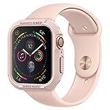 [Spigen] Apple Watch 44mm ケース (Series 5 / series 4 対応) TPU素材 耐衝撃 タフネスデザイン 衝撃 吸収/ラギッド・アーマー (ローズ・ゴールド) 062CS24470