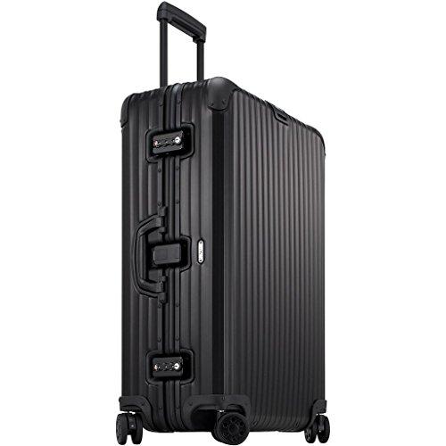Rimowa Topas Stealth IATA Gepäckkabine mit mehreren Rädern, Mattschwarz
