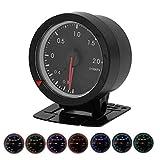 Manometro Turbo Boost per auto universale Misuratore di pressione turbo PSI Indicatore LED Strumento per auto da corsa SINCO TECH 2.4in 7 colori