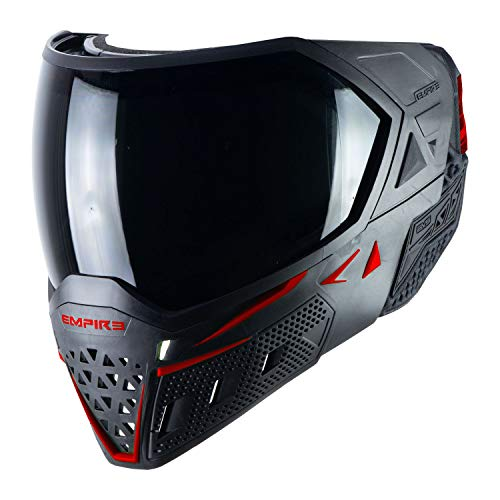Empire EVS Thermal Paintball Mask - Black / Red