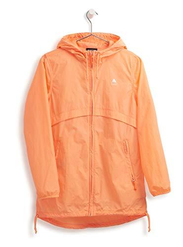 Burton Womens Hazlett Packable Jacket, Papaya, Small