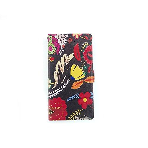 Stengh Meizu 15 Plus Hülle, Clamshell-Muster integrierte Karten-Tasche Lederhülle für Meizu 15 Plus H ¨¹lle HT