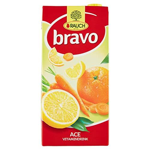 Bravo Rauch Bevanda al Succo di Arancia, Carota e Limone, 2L
