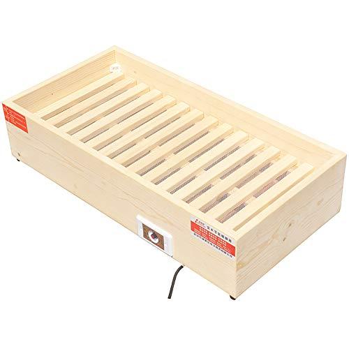 LJHA Réchauffeur, poêle de torréfaction de réchauffeur économiseur d'énergie de ménage en Bois Solide de ménage (Taille : 80 * 40 * 20cm)