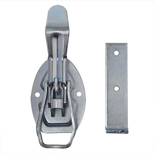 Unbekannt Exzenterverschluss 4Stk 220x40 mm Spannverschluss mit Gegenstück Hebelverschluss