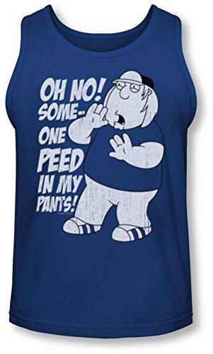 Family Guy - Männer in meinen Hosen Tank-Top, XX-Large, Royal Blue