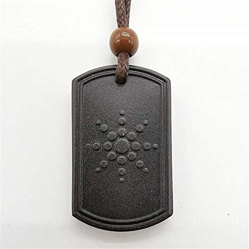 NC110 Anti EMF Radiation Protection Quantum Pendant Energy Necklace Scalar Women Men Quantum Magnetic Field Therapy Sports Necklaces B