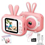 Kids Digital Camera, Kids Video Camera Recorder Shockproof Cameras HD 8 Mega Pixel