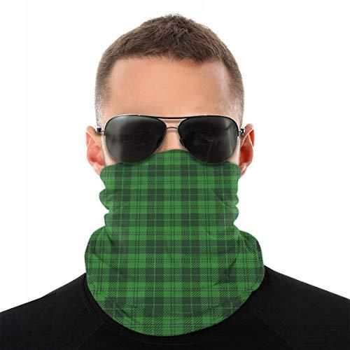 St Patricks Day Tartan Plaid schottischen Käfig Sturmhaube Sport Bergsteigen Ski Outdoor Winddichte Radsport Gesichtsmaske Masken & Schilde