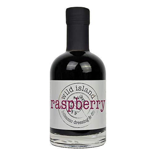 Aderezo para ensaladas Wild Island de vinagre balsámico aromatizado con frambuesas 250ml