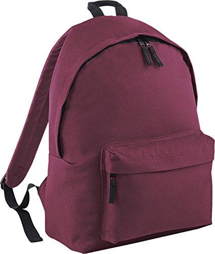 BagBase Junior Fashion mochila b125j rojo granate Talla única