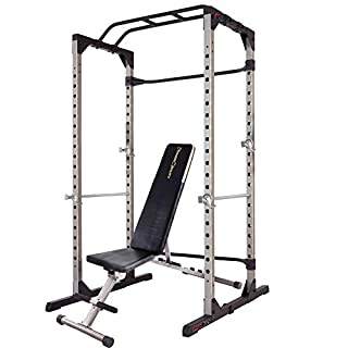 Fitness Reality 810XLT Super Max Power Cage   Optional Lat Pull-down Attachment and Adjustable Leg Hold-down   Power Cage with Weight Bench Combo (B07TK5B41T)   Amazon price tracker / tracking, Amazon price history charts, Amazon price watches, Amazon price drop alerts